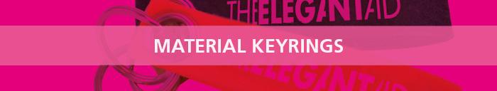 Material Keyrings