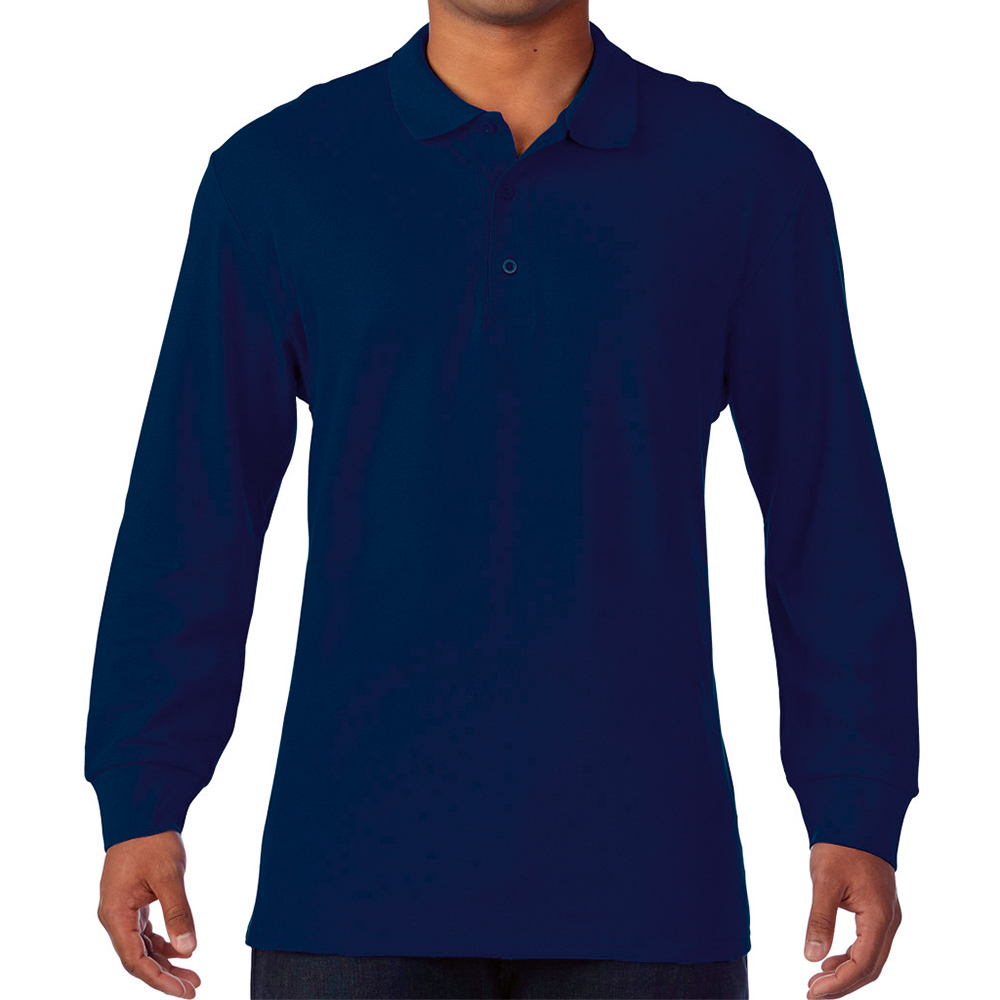 LONG SLEEVE PREMIUM POLO