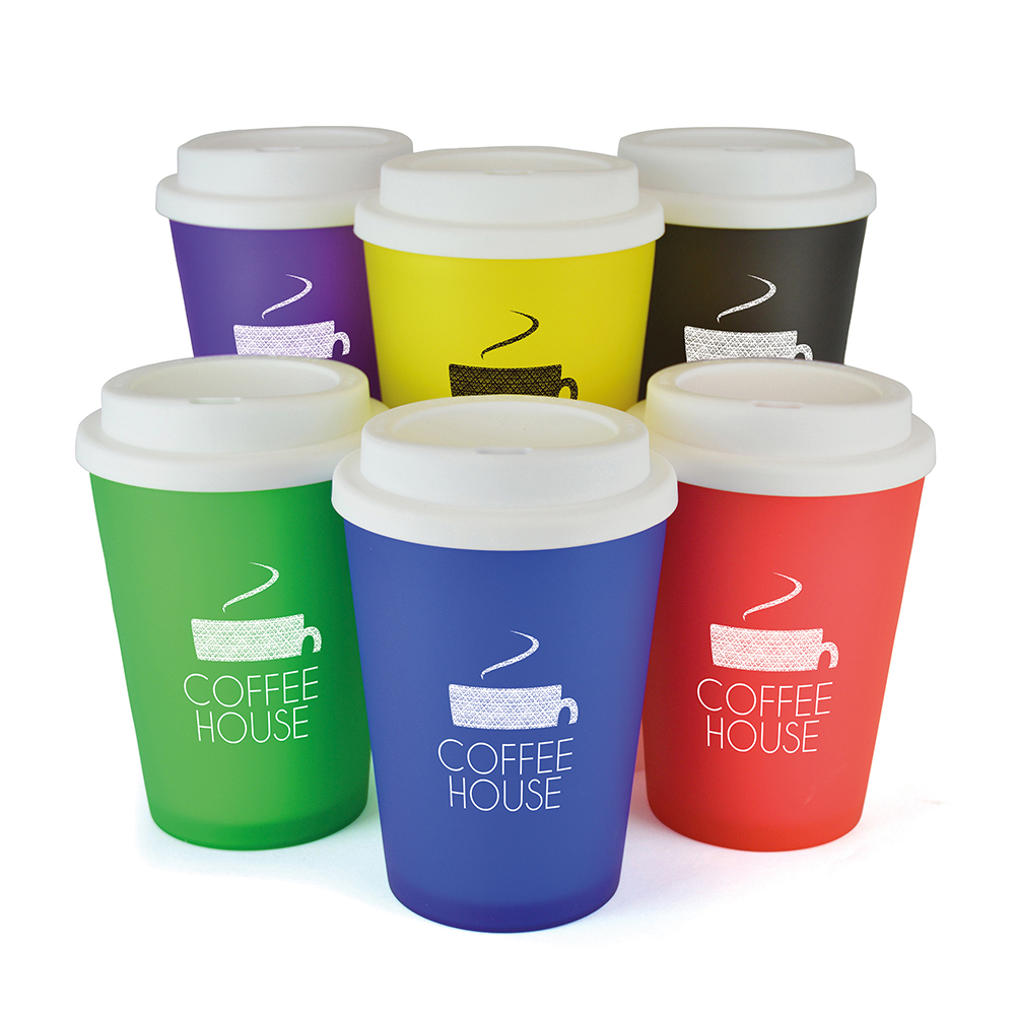 Haddon Colour Travel Mug