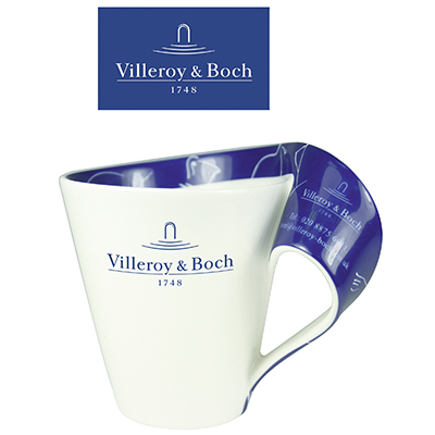 New Wave Villeroy & Boch Porcelain Mug