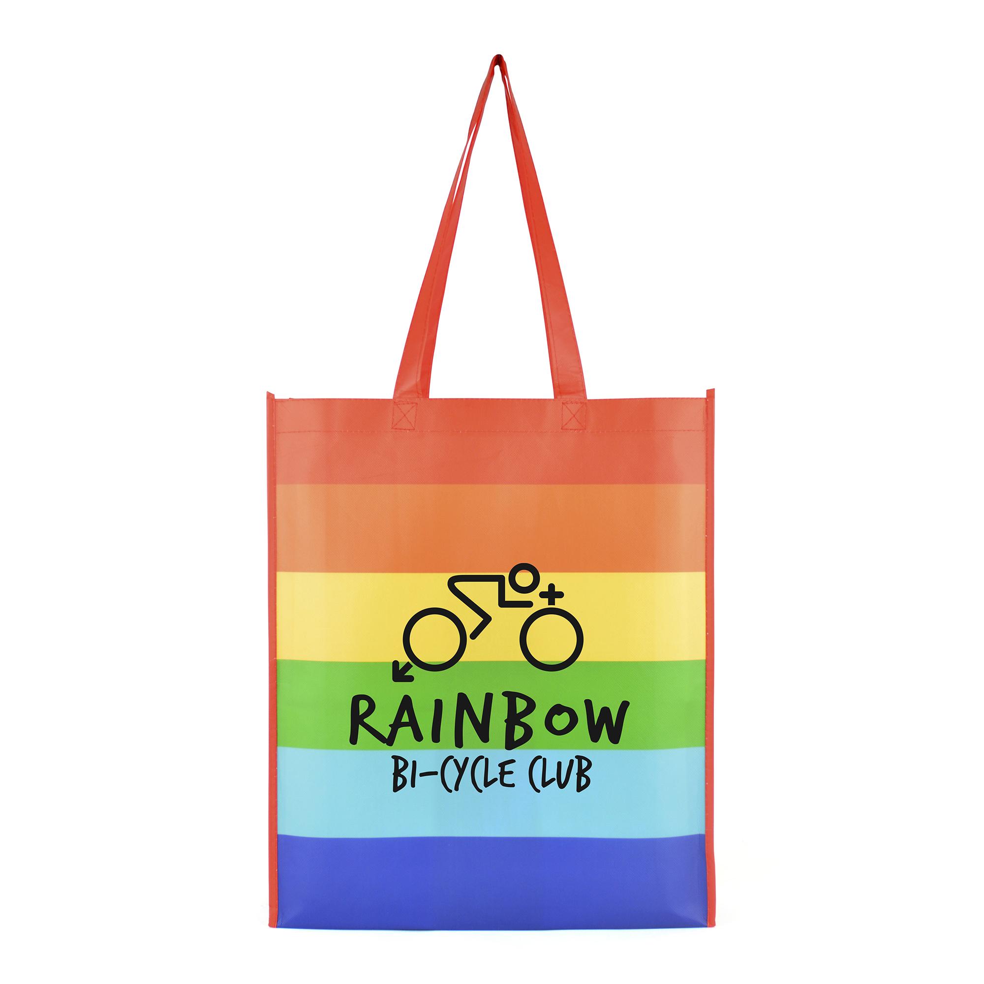 Rainbow Shopper Bag