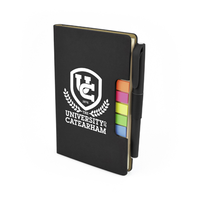 NOTEBOOK FLAG AND PEN SET