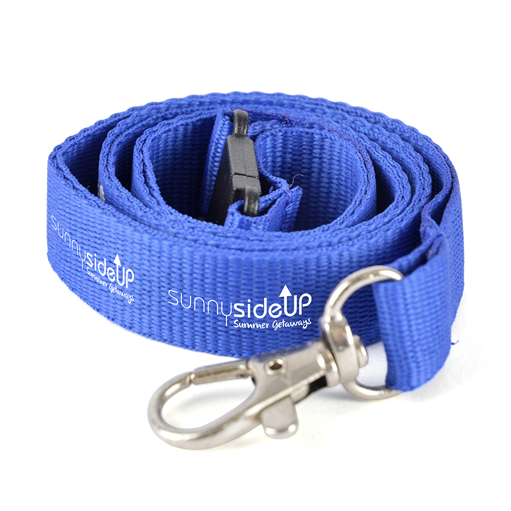 Basic Polyester Safety Lanyard with safety break - 900 mm