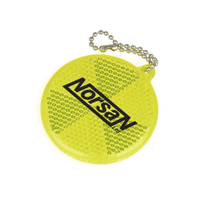 SAFETY REFLECTOR KEYRING