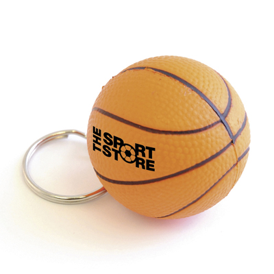 Basketball keyring